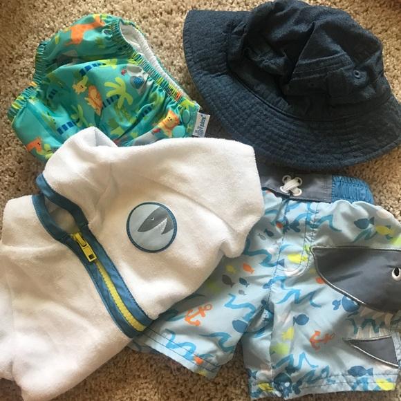 Baby Boy Swim Bundle! Best for 0-3 months a8a8f48984e